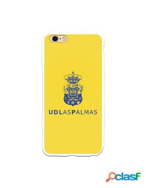 Funda para iphone 6s plus oficial del las palmas azul fondo amarillo - licencia oficial del las palmas