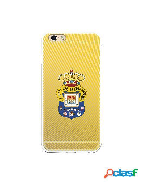 Funda para iphone 6s plus oficial del las palmas escudo azul fanda amarillo - licencia oficial del las palmas