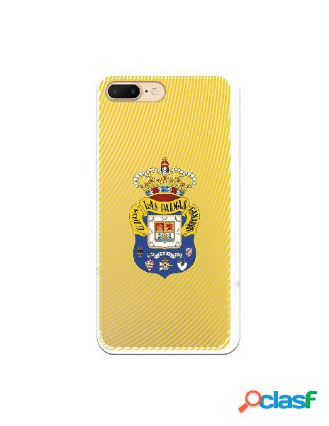 Funda para iphone 8 plus oficial del las palmas escudo azul fanda amarillo - licencia oficial del las palmas