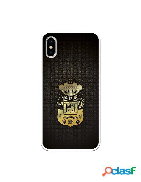 Funda para iphone xs oficial del las palmas escudo dorado - licencia oficial del las palmas