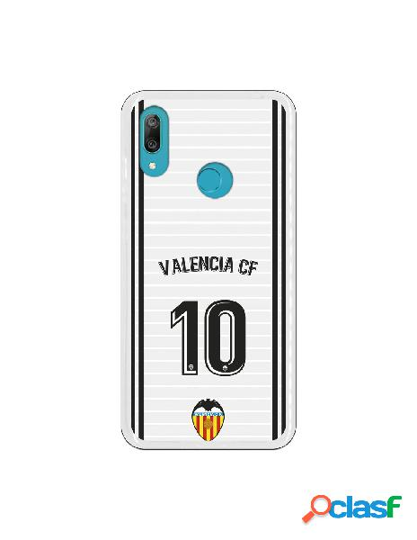 Funda oficial valencia camiseta primera equipación valencia c.f. para huawei y7 2019