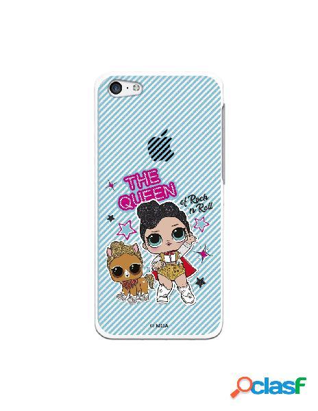 Funda para iphone 5c oficial de lol the queen transparente - lol