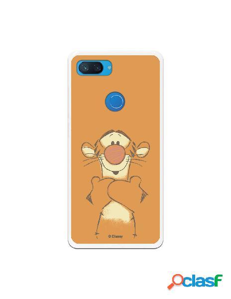 Funda para xiaomi mi 8 lite oficial de disney tigger sonrisas - winnie the pooh