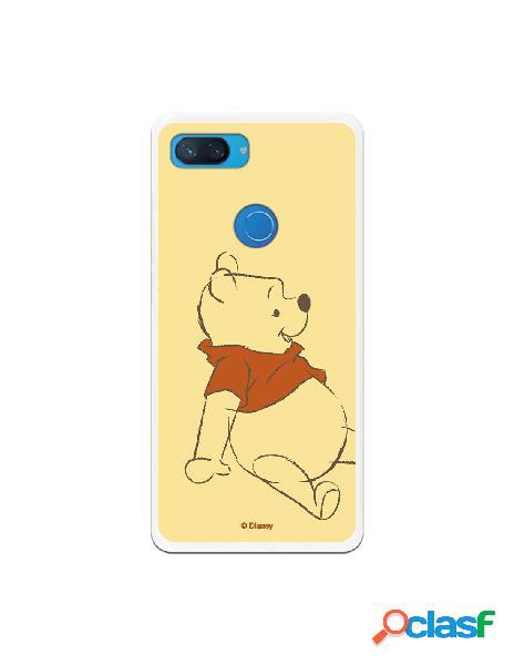 Funda para xiaomi mi 8 lite oficial de disney winnie dibujo - winnie the pooh