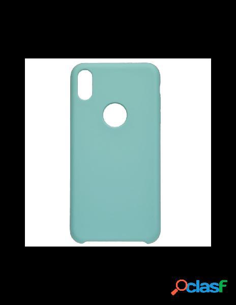 Funda ultra suave logo para iphone xs max