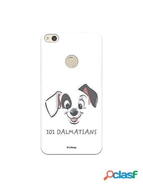 Funda para huawei p8 lite 2017 oficial de disney cachorro dibujo - 101 dálmatas