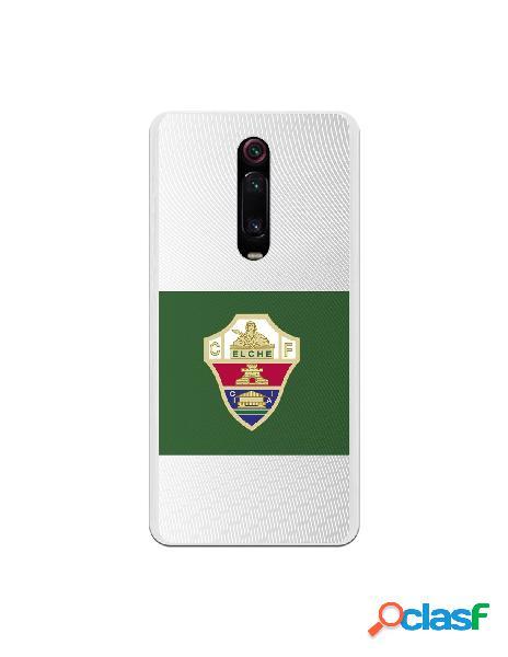 Funda oficial escudo elche cf clásico franja verde para xiaomi redmi k20