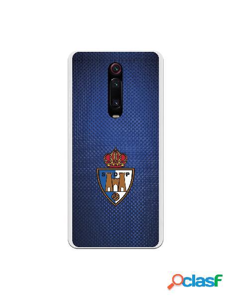 Funda oficial escudo s.d. ponferradina fondo textura azul para xiaomi redmi k20