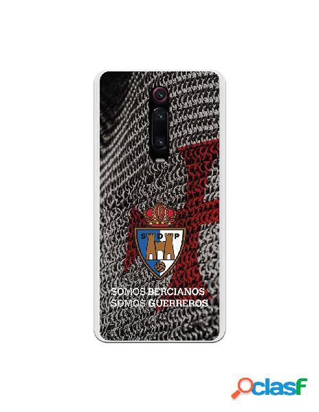 Funda oficial escudo s.d. ponferradina somos bercianos somos guerreros para xiaomi redmi k20