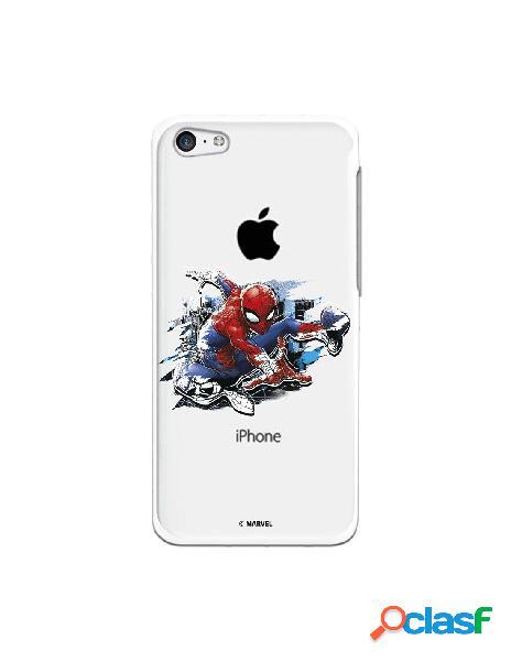 Funda para iphone 5c oficial de marvel spiderman silueta - marvel