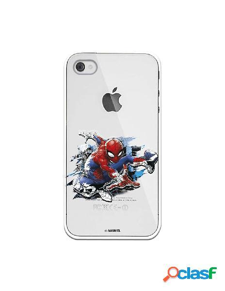 Funda para iphone 4s oficial de marvel spiderman silueta - marvel