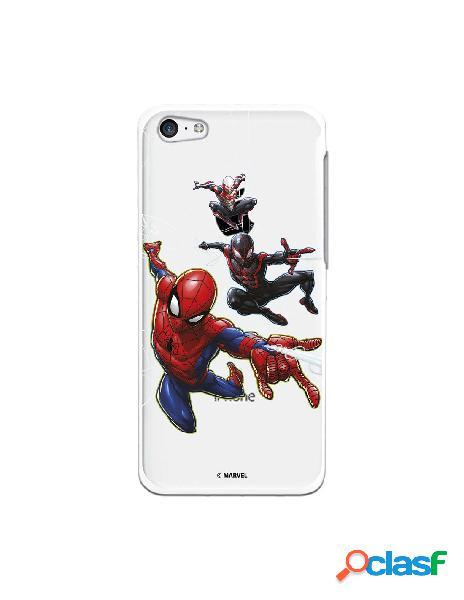 Funda para iphone 5c oficial de marvel spiderman telaraña patron - marvel