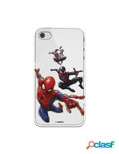 Funda para iphone 4s oficial de marvel spiderman telaraña patron - marvel