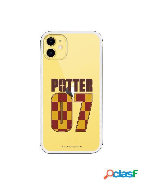 Funda para iphone 11 oficial de harry potter potter 7 - harry potter