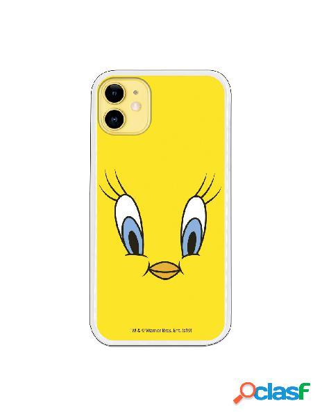 Funda para iphone 11 oficial de warner bros piolín fondo amarillo - looney tunes