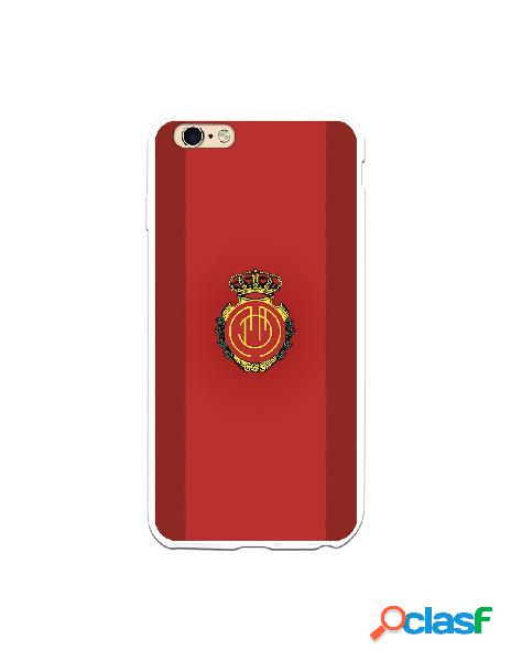 Funda para iphone 6s plus oficial del rcd mallorca fondo rojo - licencia oficial del rcd mallorca