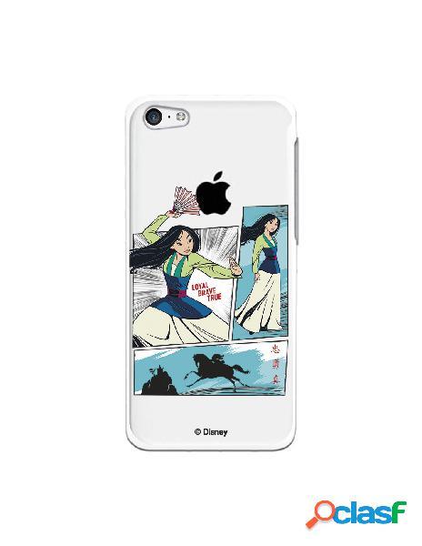 Funda para iphone 5c oficial de disney mulan viñetas - mulan