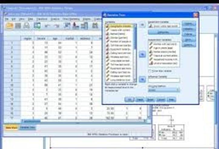 Clases para técnicas y métodos con el programa spss