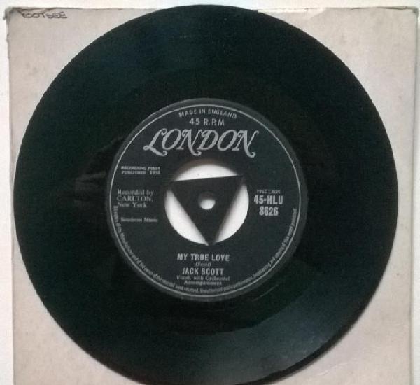 Jack scott. leroy/ my true love. london, uk 1958 single