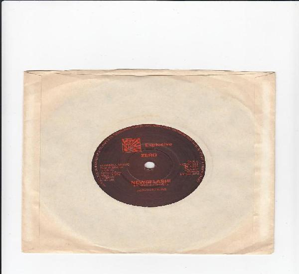 Zero. newsflash!-sweet loraine. single explosive records.