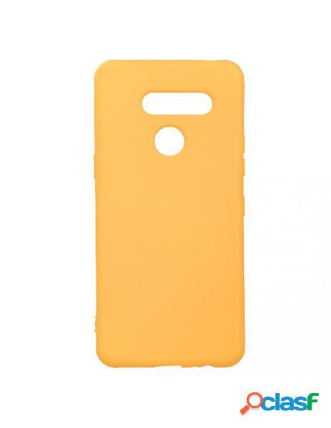 Funda ultra suave naranja para lg k50s