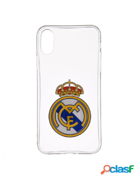 Carcasa oficial real madrid transparente para iphone xr