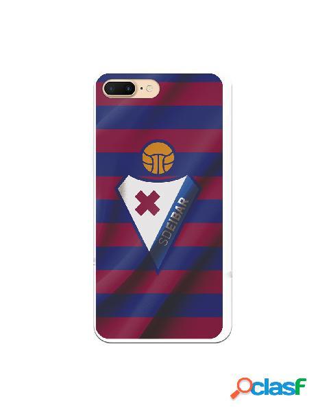 Carcasa para iphone 8 plus oficial del sd eibar escudo franjas azulgranas - licencia oficial del sd eibar
