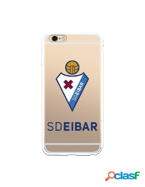 Carcasa para iphone 6s plus oficial del sd eibar escudo transparente - licencia oficial del sd eibar