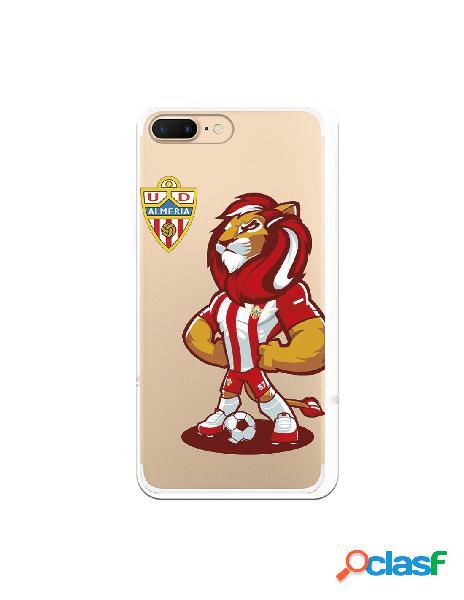Carcasa para iphone 8 plus oficial del ud almería rozam con escudo - licencia oficial del ud almería