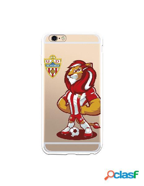 Carcasa para iphone 6s plus oficial del ud almería rozam con escudo - licencia oficial del ud almería