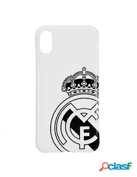 Carcasa oficial real madrid escudo gris para iphone x