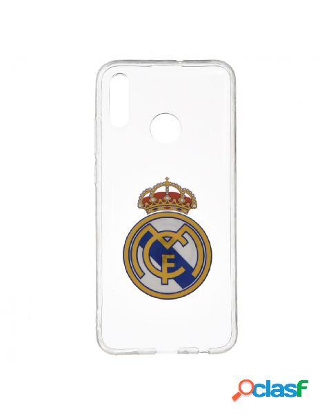 Carcasa oficial real madrid escudo transparente para xiaomi redmi note 7 pro