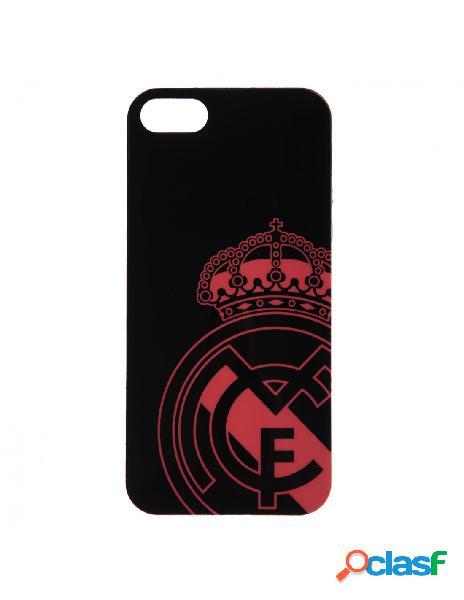 Carcasa oficial real madrid escudo rosa para iphone 5