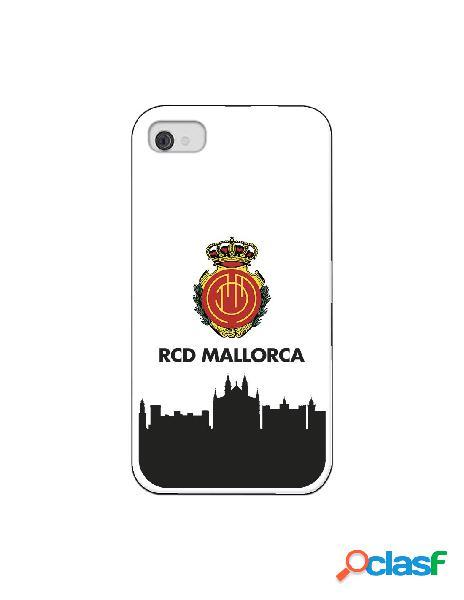 Funda para iphone 4s oficial del rcd mallorca skyline - licencia oficial del rcd mallorca