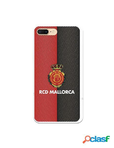 Funda para iphone 8 plus oficial del rcd mallorca diagonales transparente - licencia oficial del rcd mallorca