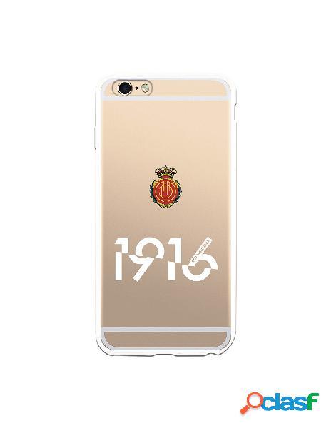 Funda para iphone 6s plus oficial del rcd mallorca 1916 transparente - licencia oficial del rcd mallorca