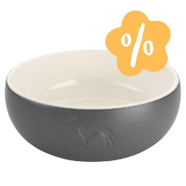 Comedero de cerámica hunter lund para perros ¡en oferta!