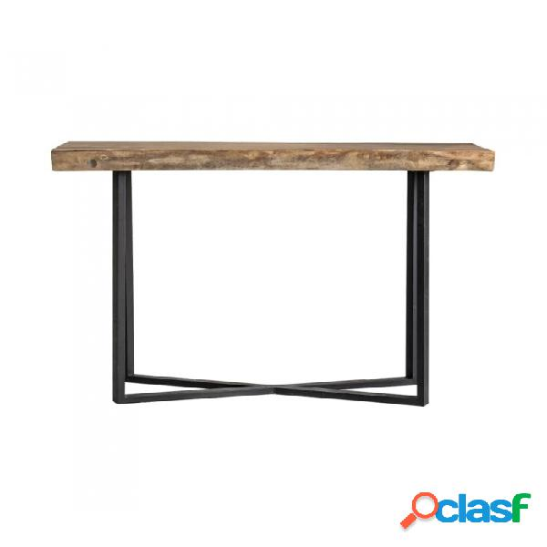 Mesa bar natural madera 160 x 80 110