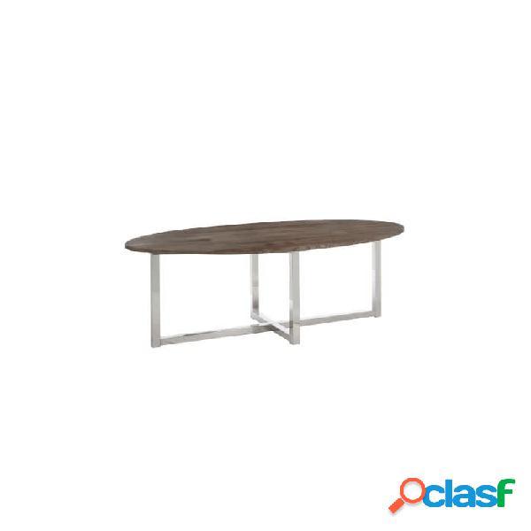 Mesa comedor marron madera 200 x 100 76