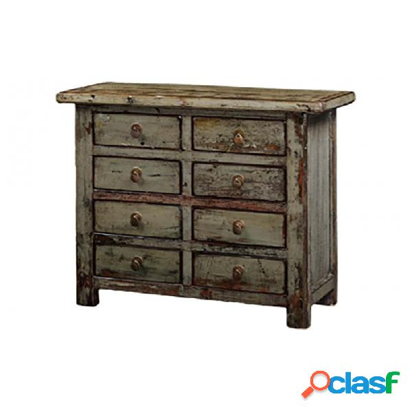Cómoda natural madera oriental 97 x 40 89