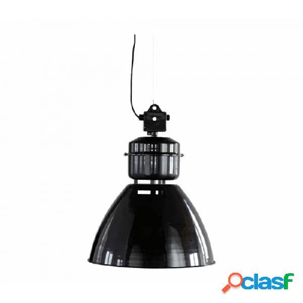Lámpara de techo negro metal industrial