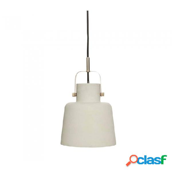 Lámpara de techo gris laton metal nordico ø20xh25, e27/15w
