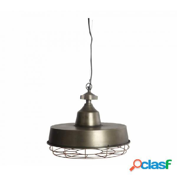 Lámpara de techo laton metal industrial