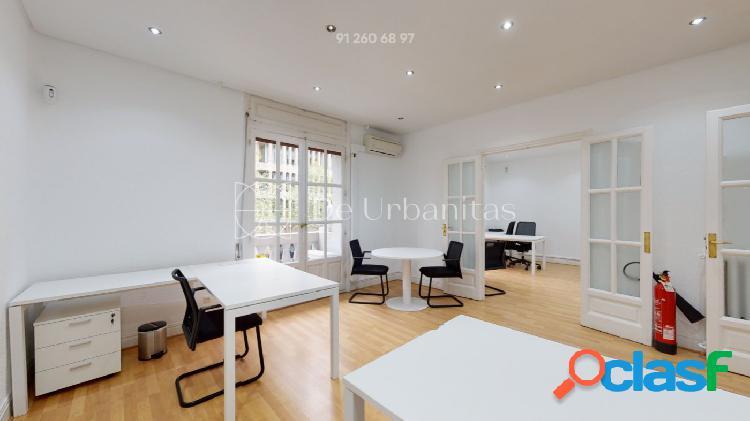 Oficina y piso en madrid zona castellana