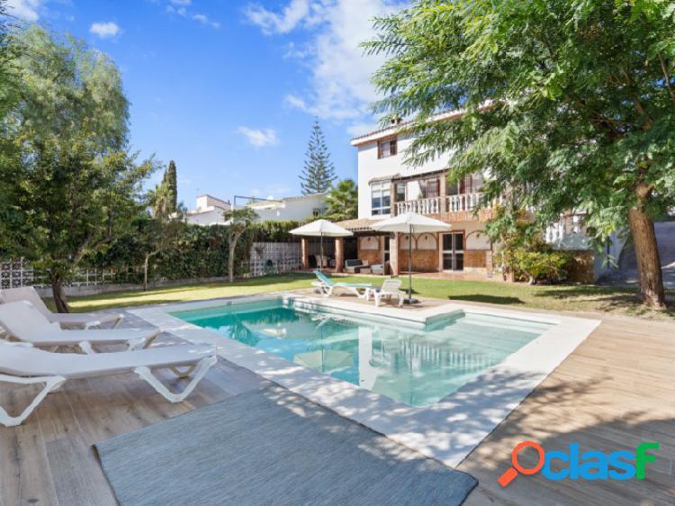 Encantadora villa en sierrezuela con piscina de agua salada