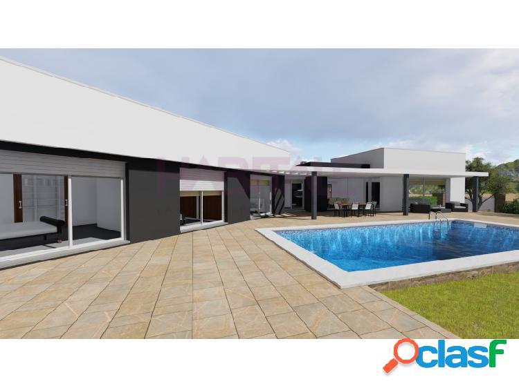 En construcción: villa moderna de alta eficiencia energética en moraira.
