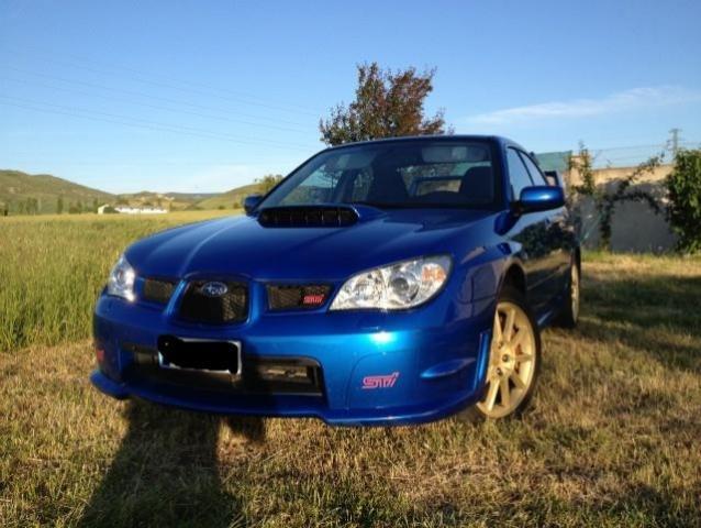 Subaru impreza 2.5t wrx sti sedan - 2600euros