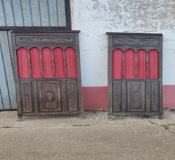 Preciosas puertas de confesionario
