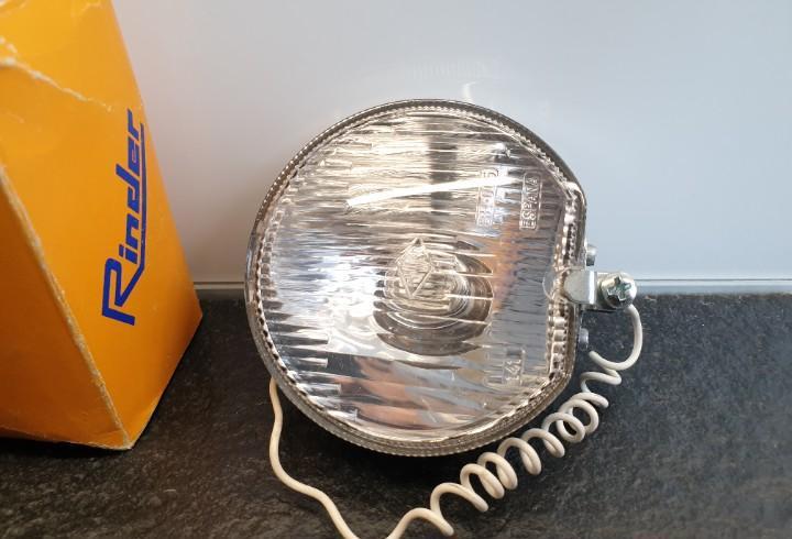Antigua luz foco faro de bicicleta rinder. (envío 2,50€)
