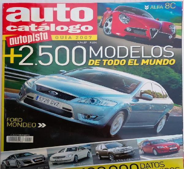Auto catálogo autopista nº 27 año 2007